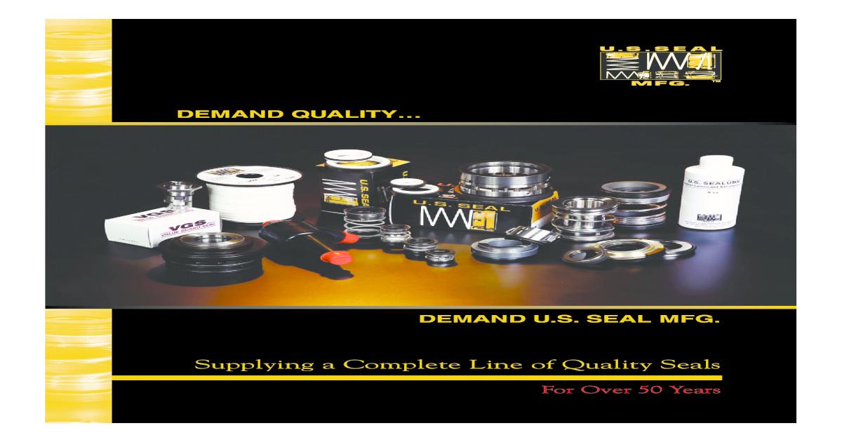 US Seal Mfg Catalog 1010 Ge Washing Machine Motor Wiring Diagram Kc on