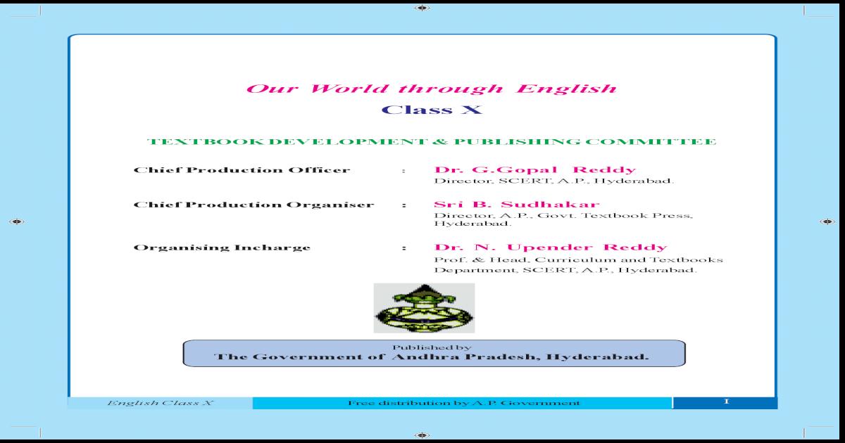 Tenth class state syllabus-text book-em-tm-ap-ts-english